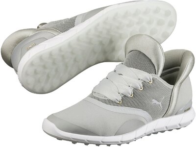 PUMA Damen Golfsoftspikeschuhe IGNITE Statement Silber
