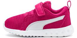 FUCHSIA PURPLE-PUMA WHITE