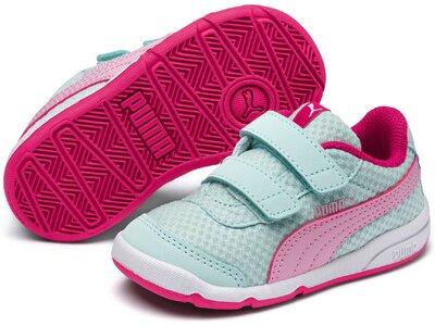 PUMA Kinder Sneaker Stepfleex 2 Mesh V Inf Rot