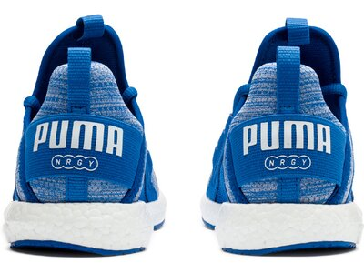 PUMA Kinder Indoorschuhe Mega NRGY Heather Knit AC Grau