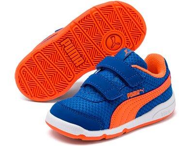 PUMA Kinder Indoor-Sportschuhe Stepfleex 2 Mesh VE V Inf Blau