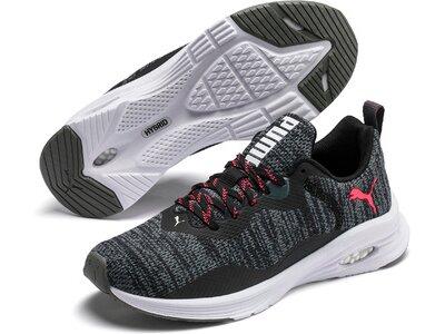 PUMA Damen Indoor-Sportschuhe Hybrid Fuego Knit Wn's Grau
