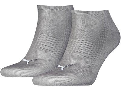 PUMA Herren Socken CUSHIONED SNEAKER 2P UNISEX Grau