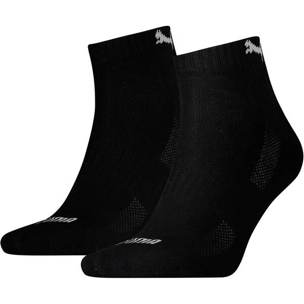 PUMA Herren Socken CUSHIONED QUARTER 2P