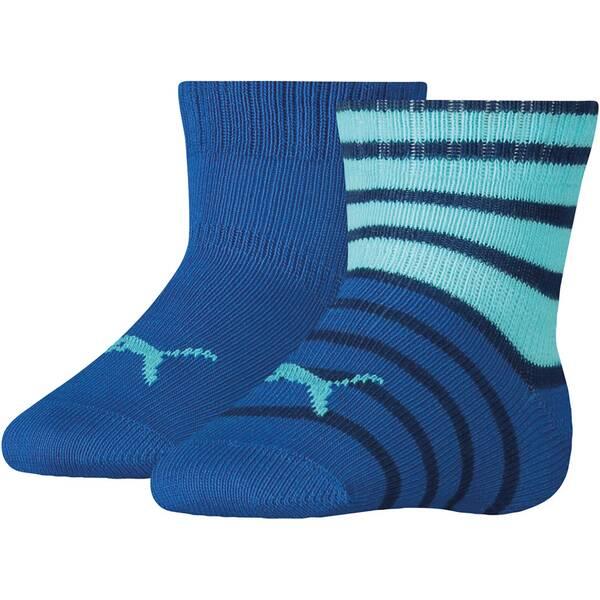 PUMA Kinder Socken BABY CREW 2P STRIPE