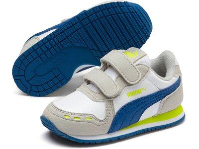 PUMA Kinder Sneaker Cabana Racer SL V Inf Silber