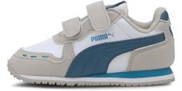 PUMA WHITE-DRESDEN BLUE