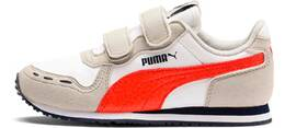 PUMA WHITE-GRAY VIOLET-CHERRY
