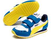 PUMA WHITE-BRIGHT COBALT-MEADO