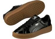 Vorschau: PUMA Damen Sneakers Basket Platform Patent