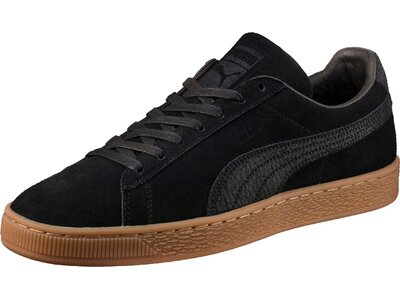 PUMA Herren Sneakers Suede Classic Schwarz