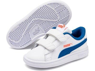 PUMA Kinder Schuhe Smash v2 L V Inf Grau
