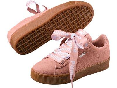 Puma Damen Sneaker Vikky Platform Ribbon Bold Pink