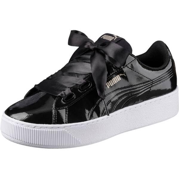 PUMA Damen Sneaker Vikky Platform Ribbon P