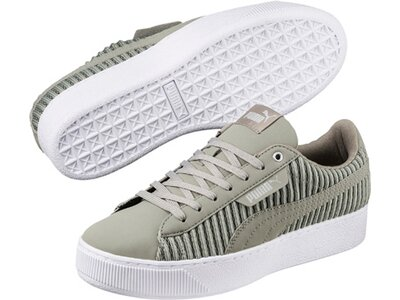 Puma Damen Sneaker Vikky Platform EP Grau