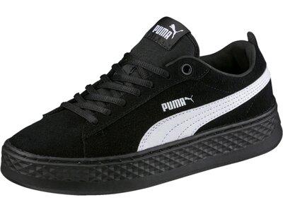PUMA Damen Sneaker Smash Platform SD Schwarz