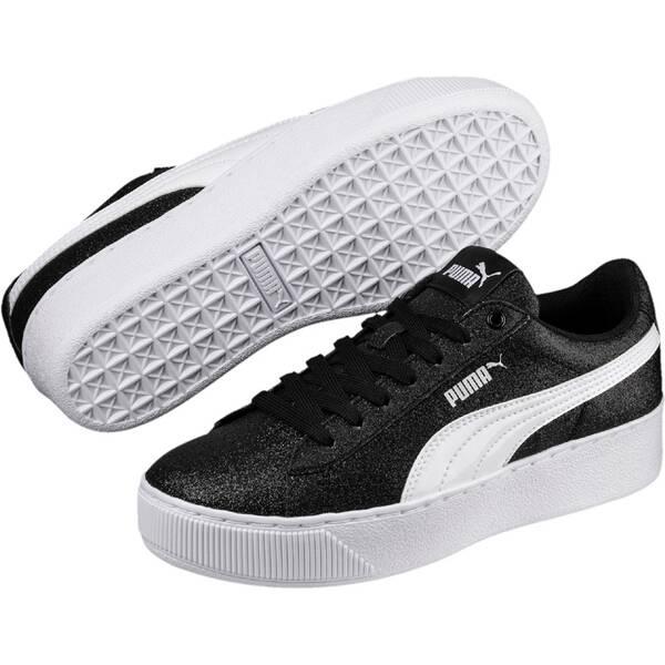 PUMA Kinder Sneaker Vikky Platform Glitz Jr