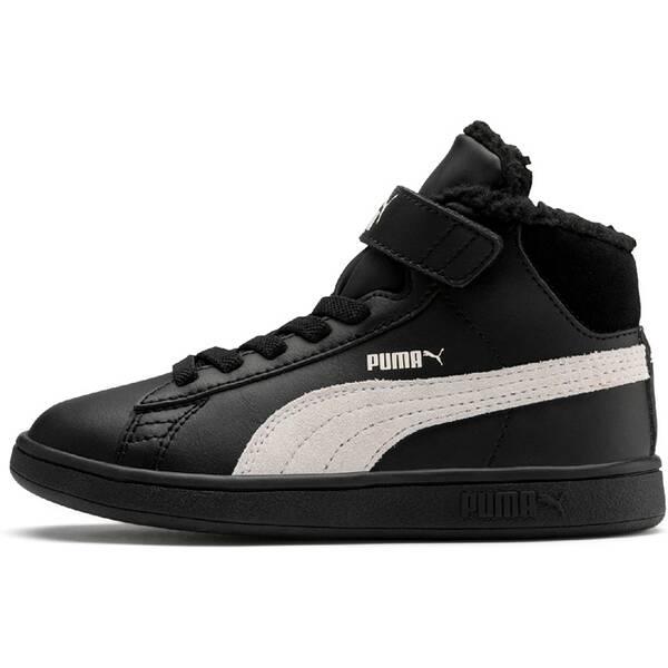 PUMA Kinder Sneaker Puma Smash v2 Mid L Fur V PS