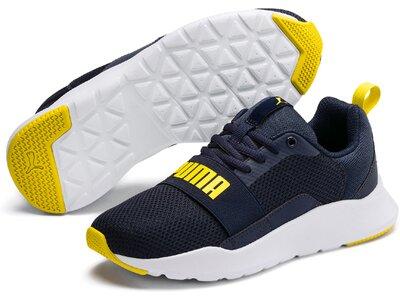 PUMA Kinder Sneaker Wired Jr Silber
