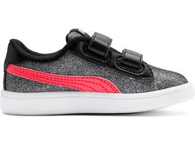 PUMA Kinder Sneaker Smash v2 Glitz Glam V Inf Schwarz