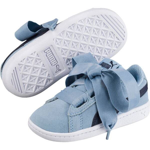 PUMA Kinder Sneaker Vikky Ribbon AC PS