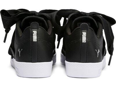 PUMA Damen Sneaker Smash Wns Buckle Grau
