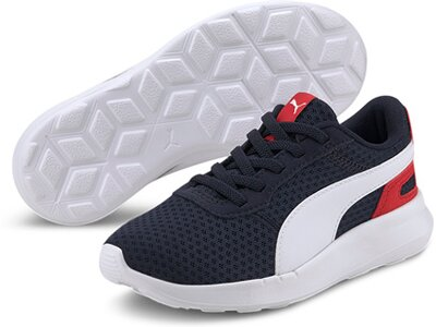 PUMA Kinder Sneaker ST Activate AC PS Silber