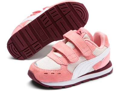 PUMA Kinder Sneaker Vista V Inf Rot