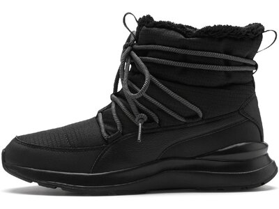 PUMA Damen Mid Boot Adela Winter Boot Schwarz