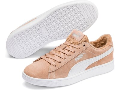 PUMA Damen Sneaker Puma Vikky v2 Fur Grau