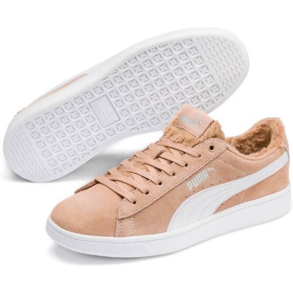 PUMA Damen Sneaker Puma Vikky v2 Fur