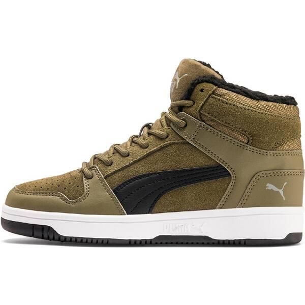 PUMA Kinder Sneaker Puma Rebound Layup Fur SD Jr