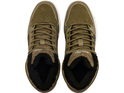 PUMA Kinder Sneaker Puma Rebound Layup Fur SD Jr Braun