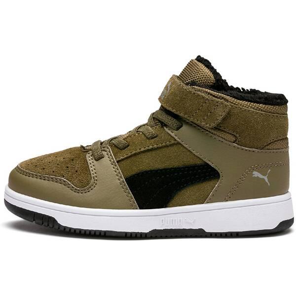 PUMA Kinder Sneaker Puma Rebound Layup Fur SD V PS