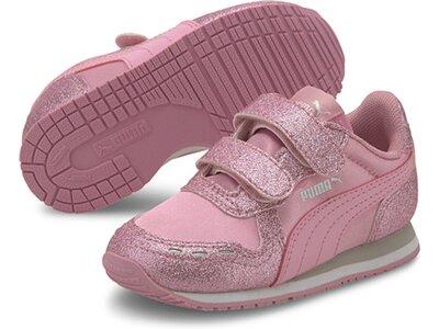 PUMA Kinder Sneaker Cabana Racer Glitz V Inf Pink