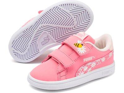 PUMA Kinder Schuhe Smash v2 Bees V Inf Rot