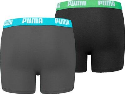 PUMA Basic Kinder-Boxershorts 2er-Pack Grau