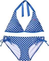 PUMA Damen Bikini FUN CHECK/STRIPE HALTERNEC