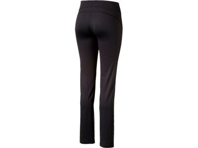 PUMA Damen Trainingshose WT Ess. Straight Leg Pants Schwarz