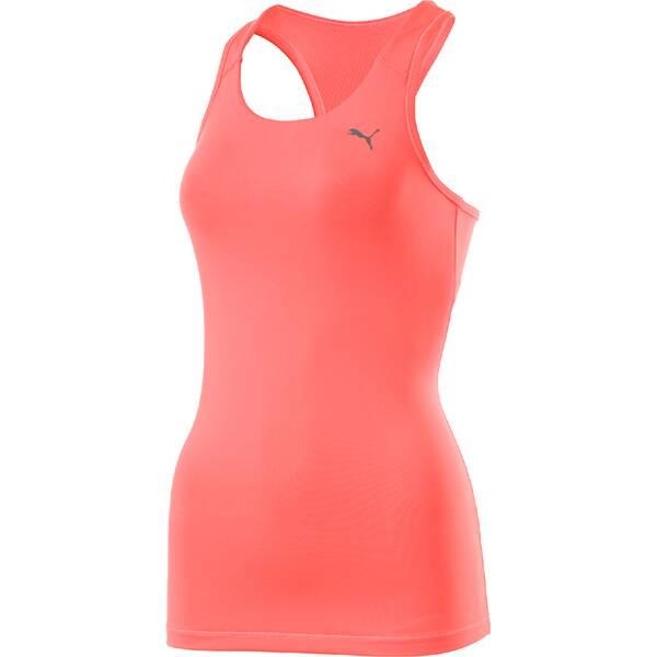 Puma Damen Shirt Essential RB Tank Top Orange