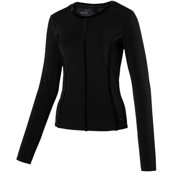 PUMA Damen Shirt Nocturnal Velvet LS