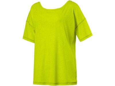 PUMA Damen T-Shirt Dancer Drapey Tee Solid Grün