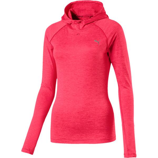 Puma Damen Hoodie Run Hooded Top