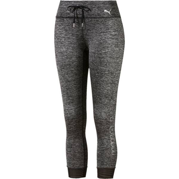 PUMA Damen Trainingstights Explosive Heather 3/4-Länge