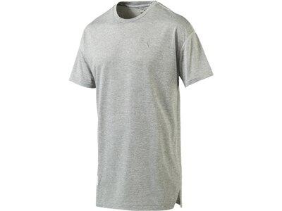 PUMA Herren Shirt Energy Silber