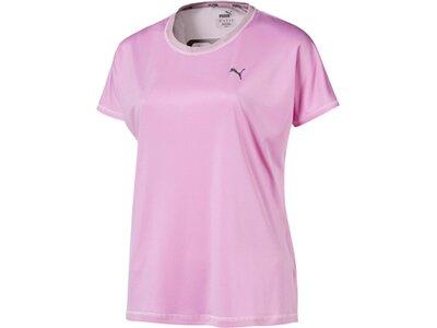 PUMA Damen EXPLOSIVE BOX TEE Pink