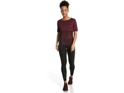 PUMA Damen Shirt A.C.E. Reveal Tee Braun