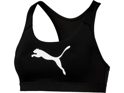 PUMA Damen Crop-Top 4Keeps Bra M Schwarz