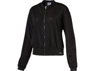 PUMA Damen Luxe Jacket Schwarz