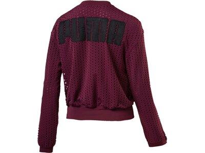 PUMA Damen Luxe Jacket Lila